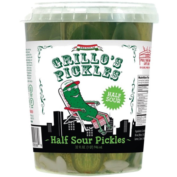 Grillo's Half Sour Pickles