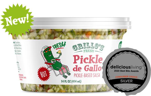 Grillo's Hot Pickle de Gallo