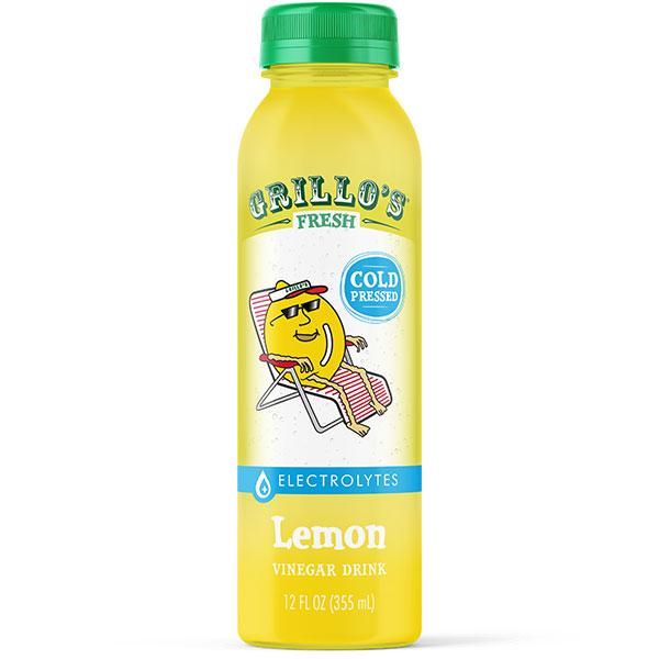 Grillo's Lemon Vinegar Drink