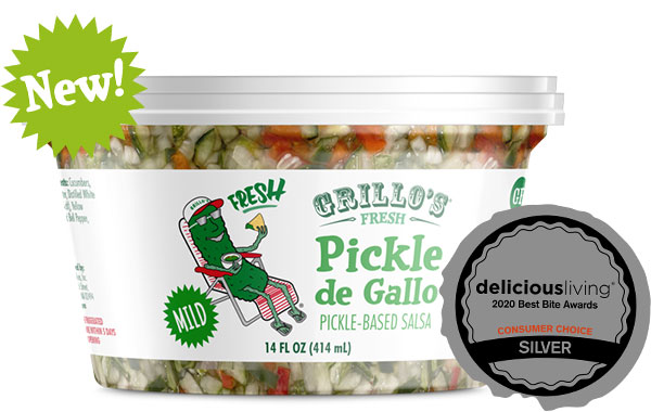 Grillo's Mild Pickle de Gallo