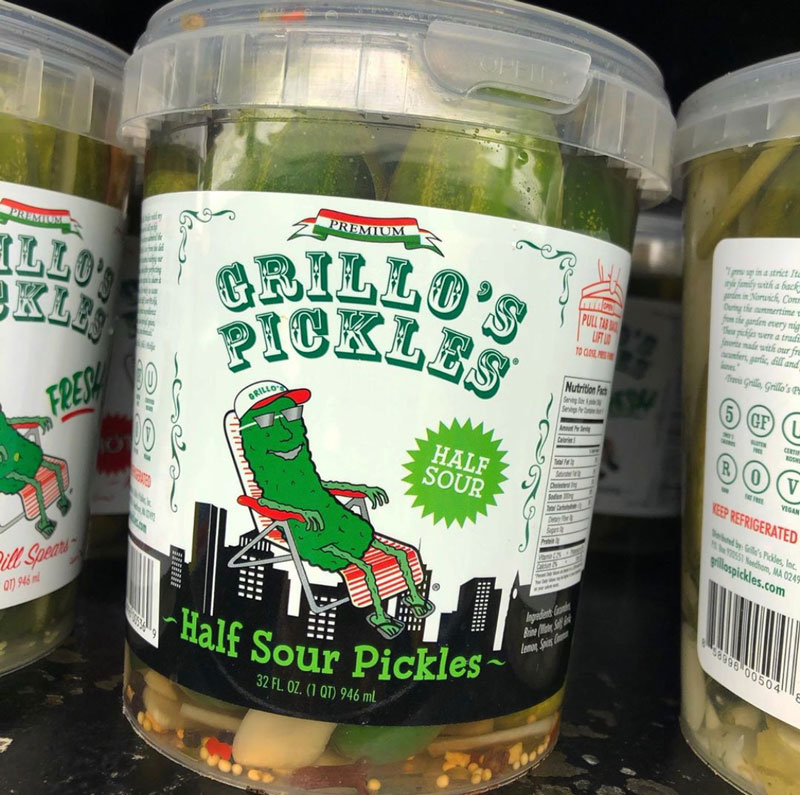 Grillo's Pickles - The Half Sours