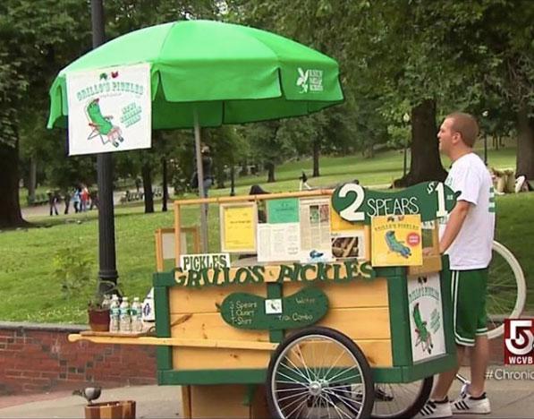 Grillo's Pickles - The Move