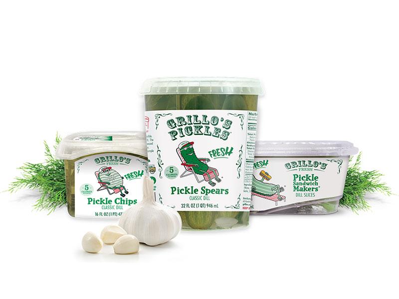 Grillo's Pickles